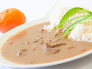 Azu po tatarsku, rýže dušená